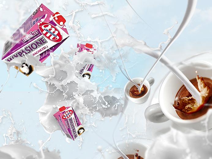 spot reklamowy Mlekovita mleko